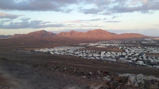 Volcán Montaña Roja: panorama