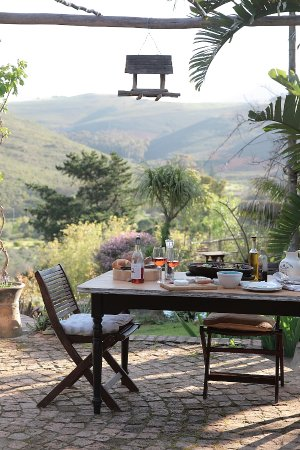 Overberg District, Sudafrica: Eyrie House Deck