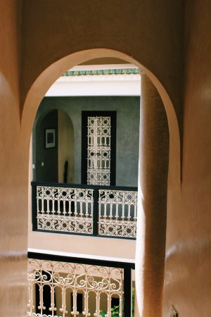 Riad O: Patio