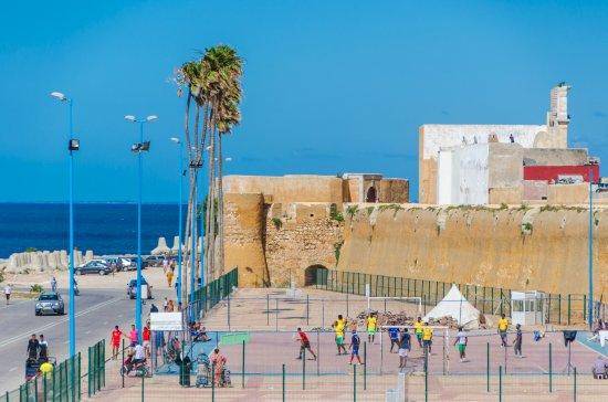 El Jadida, โมร็อกโก: Rundgang auf der Festungsmauer