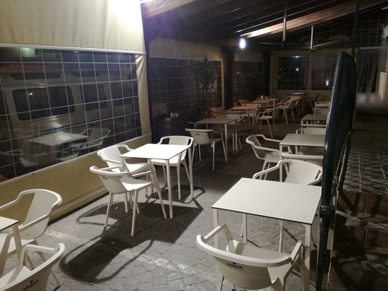 El Toboso, Spain: Terraza