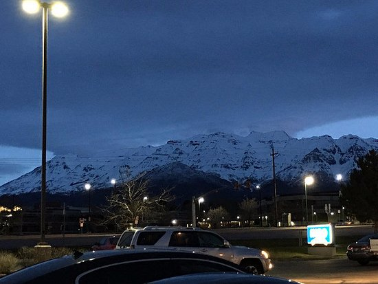 Orem, UT: From the parking lot of the hotel