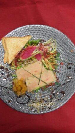 Bernay, Γαλλία: foie gras maison
