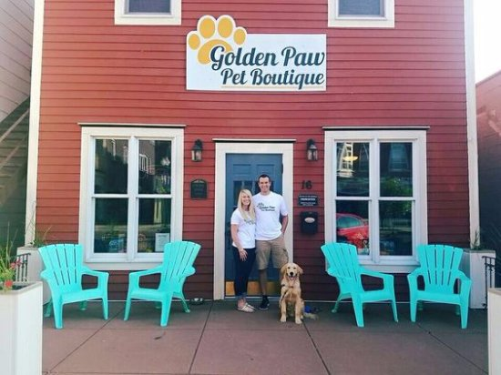 Evansville, Висконсин: Golden Paw Pet Boutique