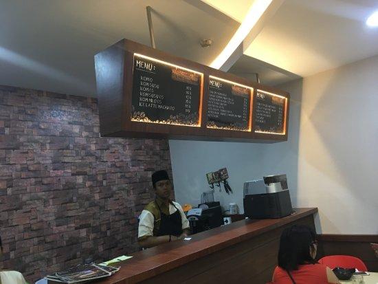 Pekanbaru, Indonesia: Counter