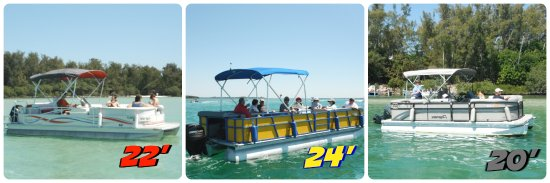Cortez, FL: Choose from 20' 22' 24' pontoons