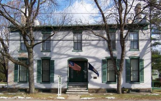 Montour Falls, NY: The Brick Tavern Museum