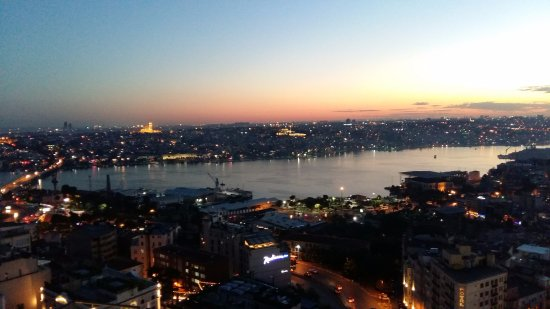 Mikla Restaurant: view gets better