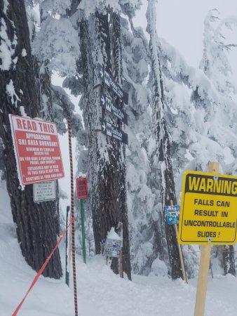 Skykomish, Вашингтон: entering Bob's/Nany's/Solitude chutes2