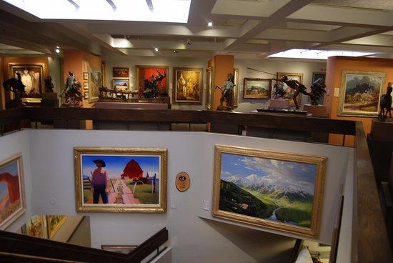 Boulder, CO: Museum interior - second floor.