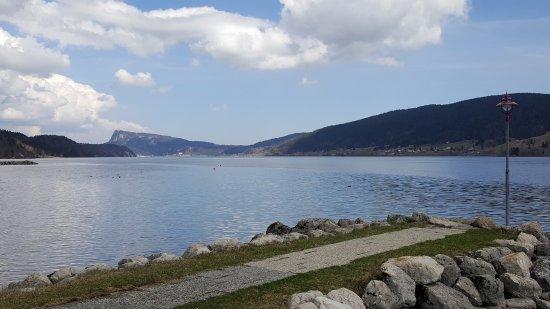 Le Sentier, سويسرا: Aussicht vor dem Hotel