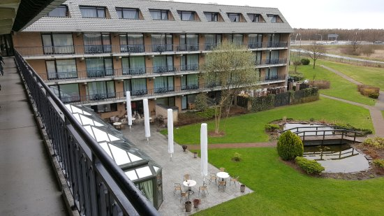 Blankenfelde, Alemania: View from Hotel Room