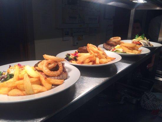 Abergavenny, UK: New food ..