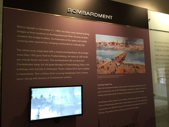 Fredericksburg, VA: Information about the battles illustrated with paintings and photos