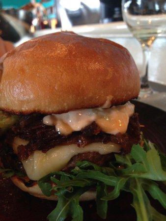 Le Hibou: Hale Farm Sirloin Burger