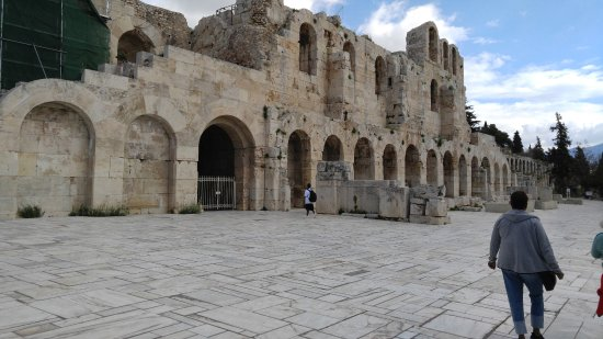 Photo of Historic Site Herod Atticus Odeon at Διονυσίου Αρεοπαγίτου, Athens, Greece