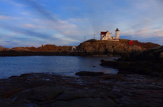 Cape Neddick Nubble Lighthouse: Lighthouse During March