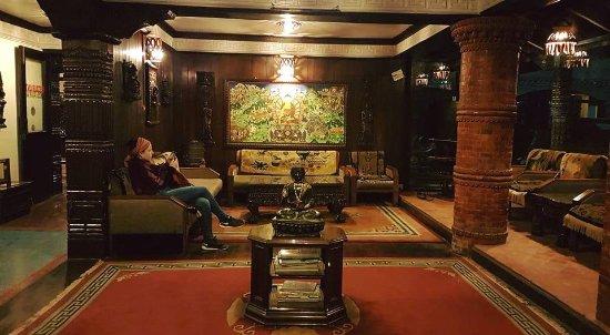 International Guest House: Reception
