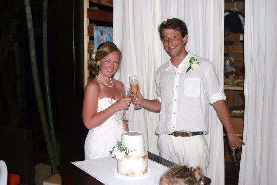 Playa Negra, Costa Rica: Our wedding night!