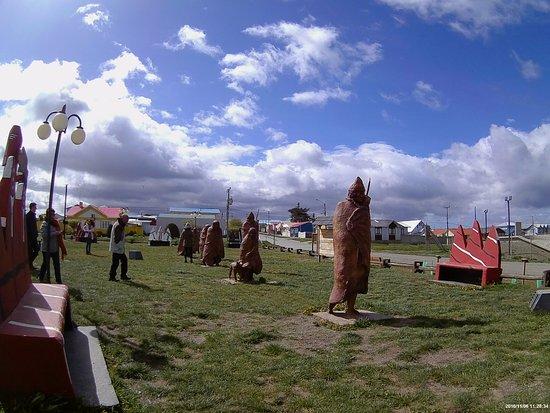 Tierra del Fuego, Chile: Praça da cidade