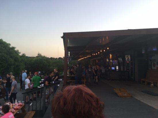 Buda, TX: Buck's Backyard Outside Bar