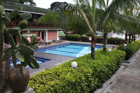 pool side Endau Beach Resort Picture of Endau Beach Resort