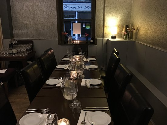 Hurstpierpoint, UK: Private Dining Room