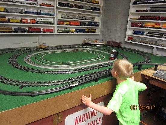 Big River Train Town: Huge collection for all ages to interact with and enjoy!  $5 for the whole family!