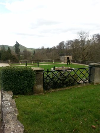 Ilam, UK: The view from the cafe