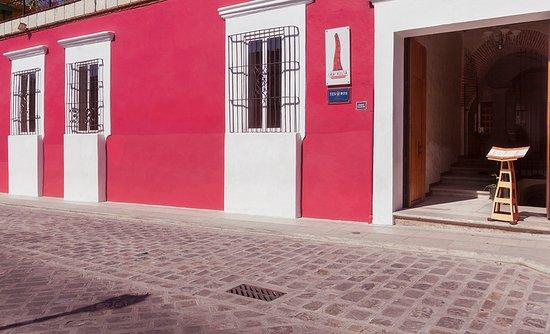 Casa Catrina: fachada del hotel