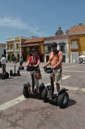 Segway Cartagena : A stop at just one of the many town squares