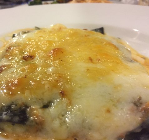 Campana, Argentina: Lasagna Nero Seppia