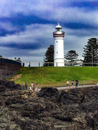 Iconic lighthouse at Kiama