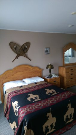 Woodstock, Canadá: Double bed room