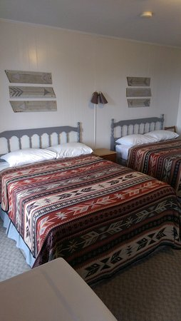 Woodstock, Canada: Room with 2 double beds