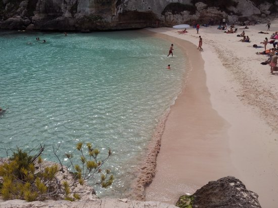 Not Very Much Of A Unspoilt Nude Beach, Is It - Picture Of Cala Macarelleta, Minorca -3910