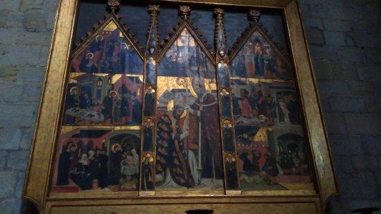 Manresa, Spagna: Retablo de Sant Marc y Sant Ania