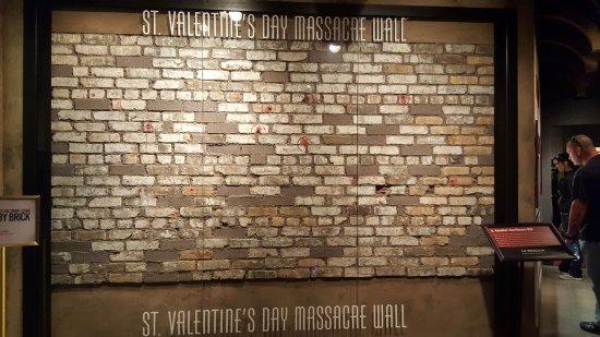 The Mob Museum: St. Valentineu0027s Day Massacre Wall
