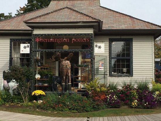 Bennington, VT : front door