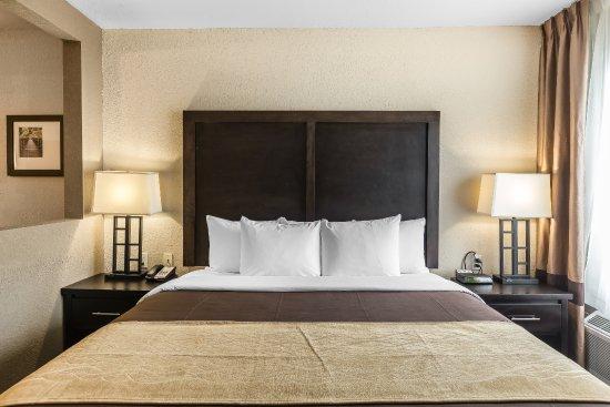 Allen Park, Мичиган: King Jacuzzi Open Suite