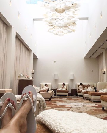 The Ritz-Carlton, Toronto: Relaxing Spa Lounge