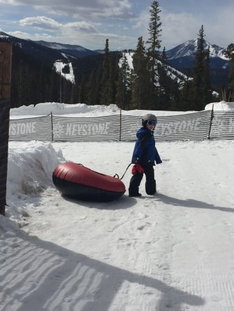 Keystone, CO: Snow Tubing at Adventure Point
