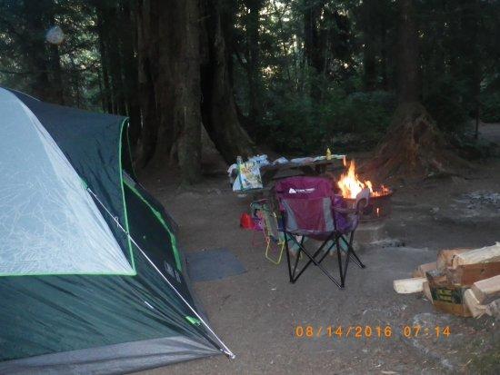Klamath, CA: camp site