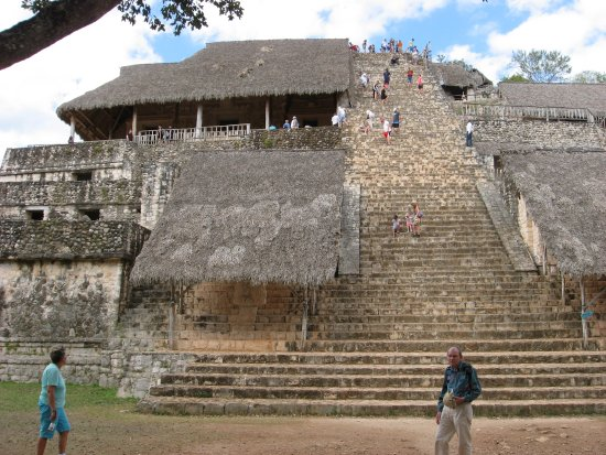 Temozon, Mexico: la tour à grimper ...