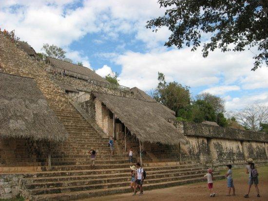 Temozon, Mexico: la tour
