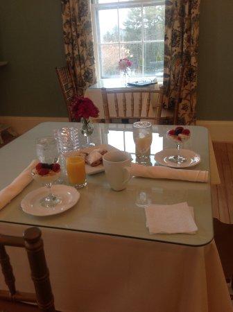 Windsor, VT: Breakfast