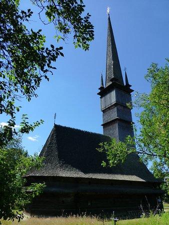 Maramures County, โรมาเนีย: Iglesia de madera de Șurdești