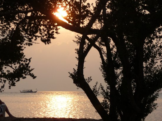 Adaaran Select Hudhuranfushi: View from our room at sunset