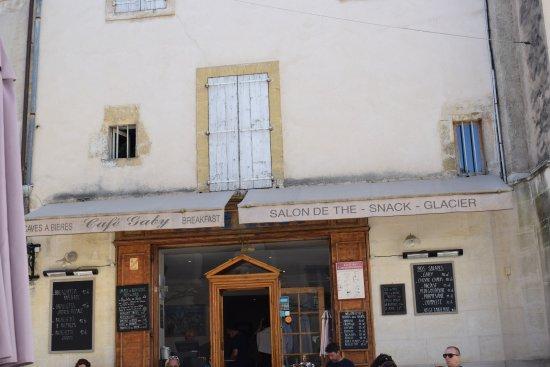 Café Gaby: devanture du restaurant