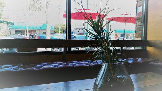 Cloverdale, CA: Great window lets in lots of light